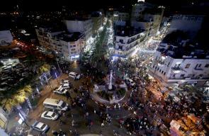أجواء استقبال عيد الفطر السعيد في رام الله