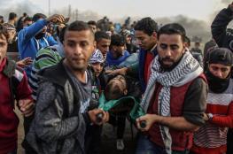 القدرة: الاحتلال ينتهج سياسة القنص باستخدام أعيرة نارية متفجرة بقطاع غزة