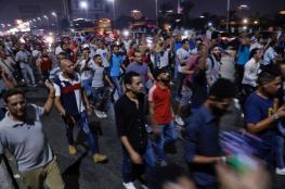 """تجدد المظاهرات المطالبة برحيل الرئيس المصري """"السيسي """""""
