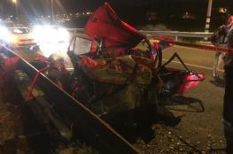 مصرع 11 مواطنا واصابة اكثر من الف آخرين في حوادث سير بالضفة الغربية