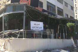رئيس بلدية نابلس : استئناف خطة إزالة التعديات قريبا