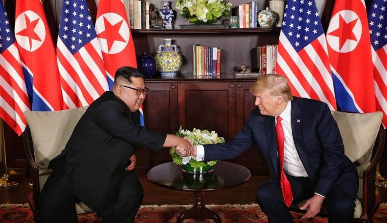 ترامب: لن يكون هناك تهديد نووي من كوريا الشمالية بعد الآن.. ناموا جيداً الليلة