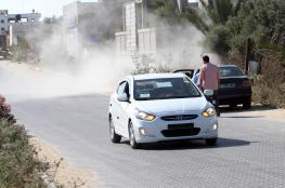 الشرطة تقبض على سائق بتهمة التفحيط في شوارع قلقيلية