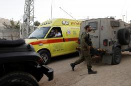 اصابة شاب برصاص الاحتلال جنوب غرب جنين