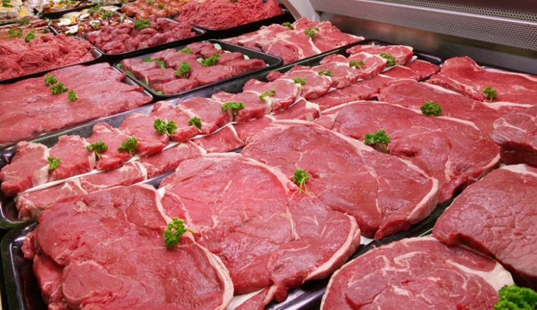 انخفاض  أسعار اللحوم للشهر الثاني على التوالي
