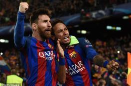 ميسي يقنع نيمار بالعودة ويعلن موعد رحيله عن برشلونة
