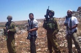 مستوطنون  يهاجمون عمال فلسطينيين شمال قرية عينابوس جنوب نابلس