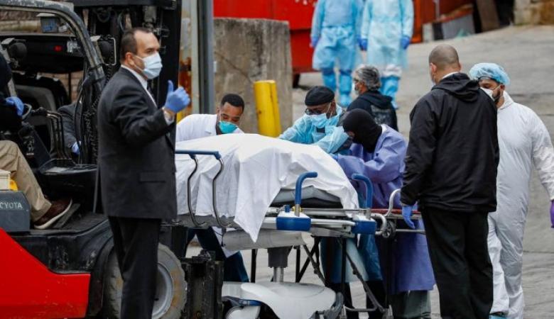 الولايات المتحدة: أكثر من 1200 وفاة بكورونا خلال 24 ساعة