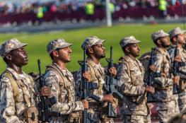 شاهد ...الجيش القطري يصل السعودية