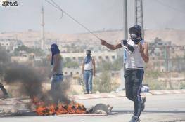 100 إصابة بمواجهات اليوم مع الاحتلال تضامنا مع الأسرى المضربين