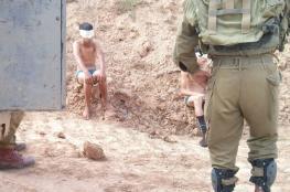 شهادات مروعة لأطفال فلسطينيين تعرضوا لتعذيب شديد على ايدي جنود الاحتلال