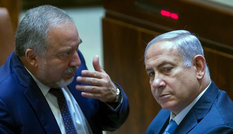 ليبرمان ينوي الانضمام الى حكومة اسرائيلية برئاسة نتنياهو