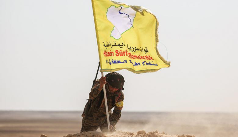سوريا الديمقراطية تتقدم في الرقة بغطاء امريكي مكثف
