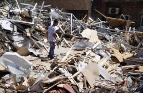 قوات الإحتلال تهدم  منزلاً قيد الإنشاء في بيت حنينا
