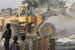 سلفيت: الاحتلال يهدم مبنى أثري ويصادر خلايا شمسية في وادي قانا