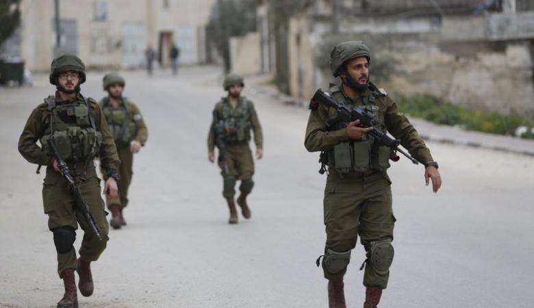 شاهد ..اطلاق النار على قوة اسرائيلية اقتحمت جنين