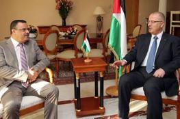 الحمد الله يبحث مع وزير الفلاحة التونسي تعزيز التعاون