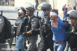 الاحتلال يعتقل 13 مواطنا في حملة مداهمات بالضفة الغربية