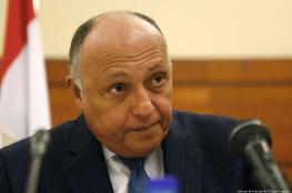 مصر : نسعى للحفاظ على حقوق الشعب الفلسطيني