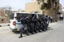الشرطة الفلسطينية  تقبض على 18 شخصا متهمين بتعاطي المخدرات