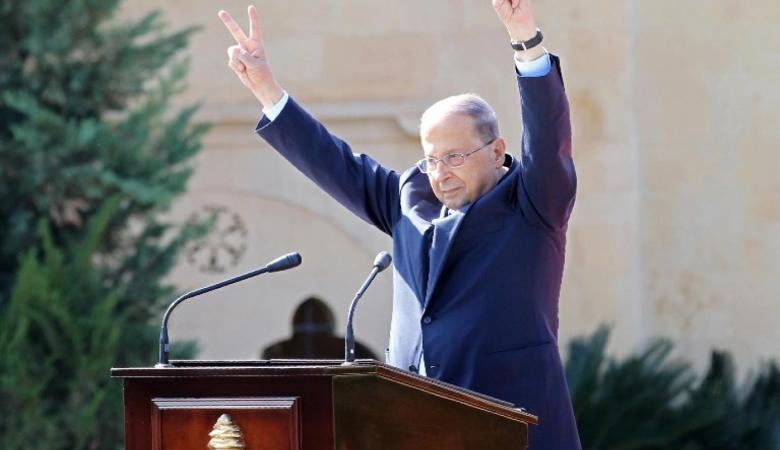 """الرئيس عون : لبنان ذاهب الى جهنم """""""