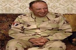 مصرع قائد المنطقة الشمالية في الجيش المصري بحادث طرق