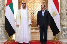 السيسي وبن زايد يؤكدان : سنواصل مواجهة الارهاب والفكر المتطرف