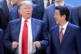 ترامب يطلب من اليابان شراء الأسلحة الامريكية