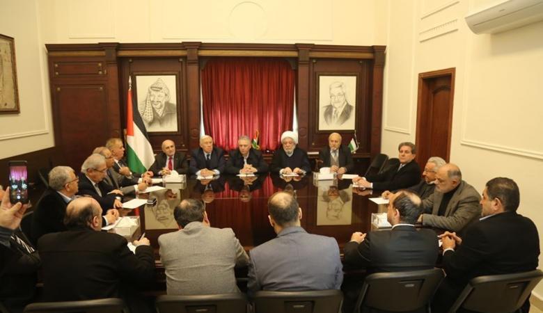 """منظمات وشخصيات لبنانية تجدد تضامنها مع فلسطين ورفضها لــ""""صفقة القرن"""""""