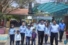الشرطة تحقق أمنية 8 أطفال بالتطوع للعمل في الشرطة السياحية بطولكرم