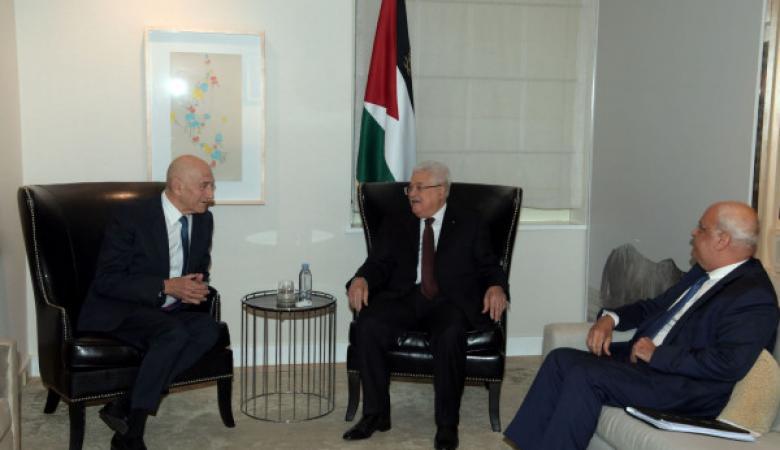 نتنياهو يعلق على اجتماع عباس أولمرت في نيويورك