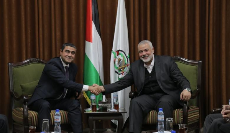 الوفد الامني المصري يلتقي قادة حماس والفصائل في غزة