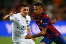 النادي الباريسي يعرض على برشلونة فيراتي و120 مليون من أجل نيمار