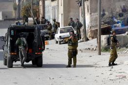 اصابات  في قمع الاحتلال لمسيرة سلمية شمال الخليل