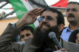 خضر عدنان يواصل اضرابه عن الطعام لليوم 45 على التوالي
