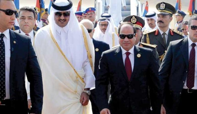 """مصر تشن هجوما على قطر :"""" تدعم الارهابيين والاخوان المسلمين """""""