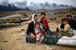 الأمم المتحدة: نزوح 8400 شخص من مدينة الموصل العراقية