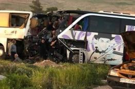 مقتل 26 عراقيا في حادث تصادم بسوريا