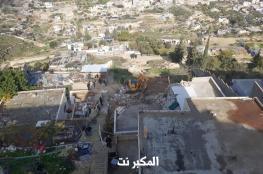 جرافات الاحتلال تهدم منزلا في جبل المكبر شرق القدس
