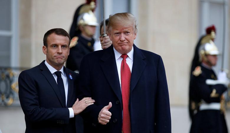 """رد فرنسي صارم على تطاول """"ترامب """""""