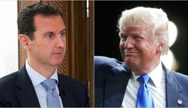 الاسد يشترط على ترامب ليصبح حليفاً طبيعيا  لنظامه