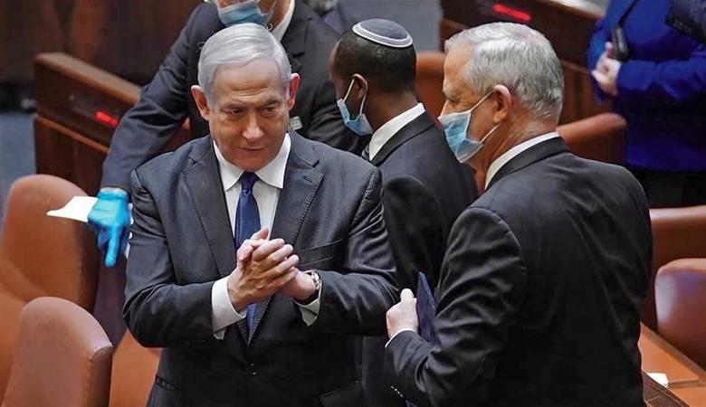 خلافات بين نتنياهو وغانتس وتهديدات بالذهاب لانتخابات رابعة