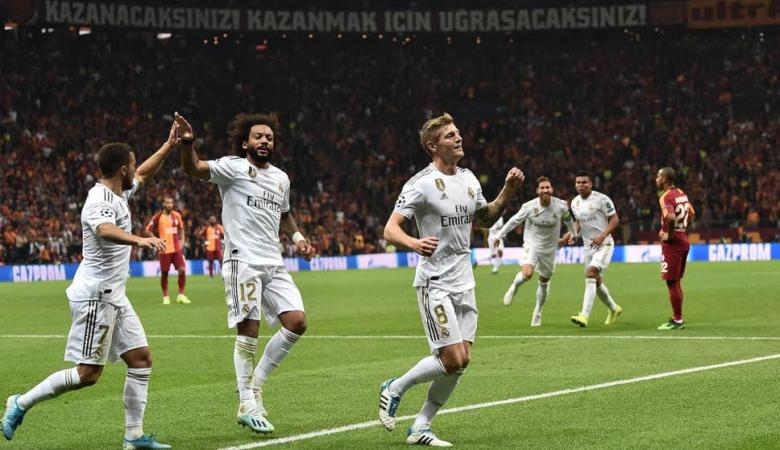 رسمياً ..ريال مدريد يضمن تأهله لثمن نهائي دوري الأبطال