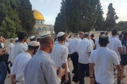 """حماس عن اقتحام المستوطنين للأقصى : """"استهتار بمشاعر العرب والمسلمين """""""