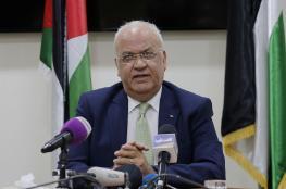 عريقات يطالب ايرلندا الاعتراف بفلسطين