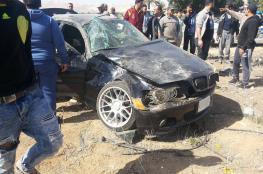 مصرع شخصين وإصابة 159 في 208 حادث سير الاسبوع الماضي