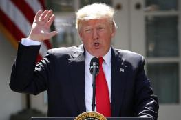 ترامب : على قطر وقف دعم الارهاب ويهدد بسحب القاعدة الامريكية