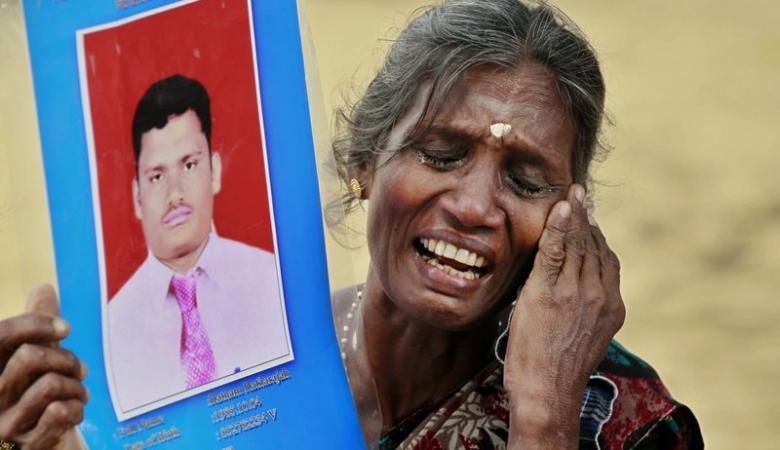 الرئيس السريلانكي يعلن رسمياً وفاة الآلاف من مواطنيه