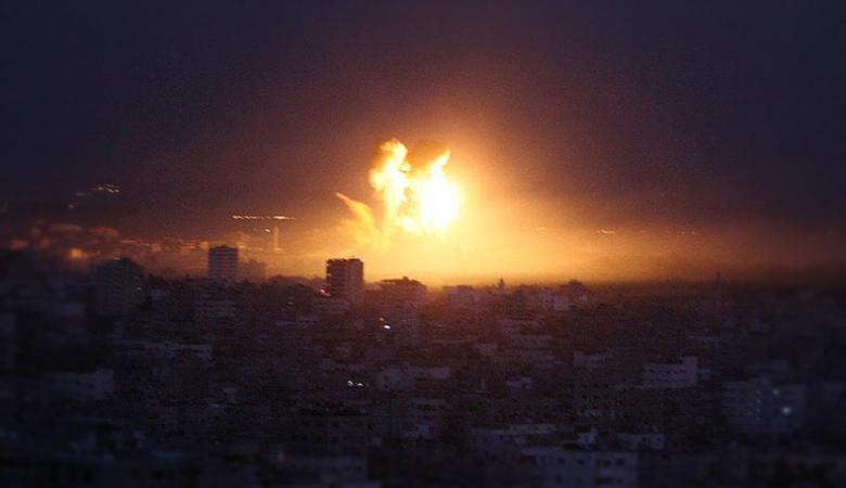 اسرائيل تقصف اهدافا في غزة فجر اليوم