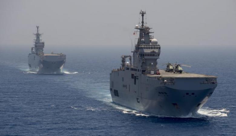تدريب مشترك للقوات البحرية المصرية والباكستانية في البحر المتوسط